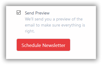 Audience Preview your newsletter